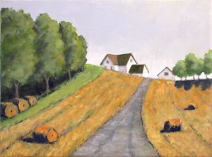 Road to Farmhouse